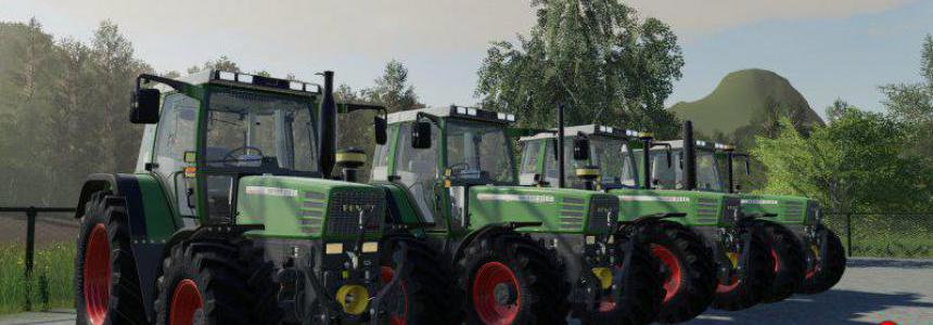 Fendt Favorit 500 Generations Pack v1.0