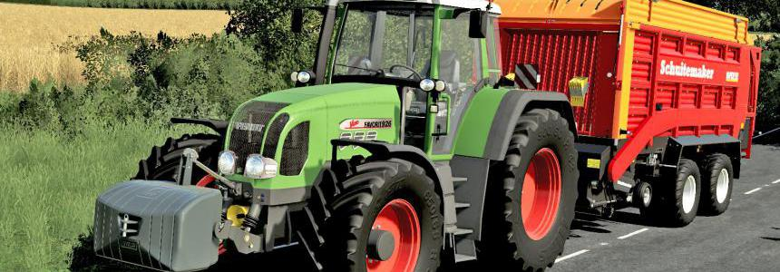 Fendt Favorit 900 Vario TMS Series v1.0