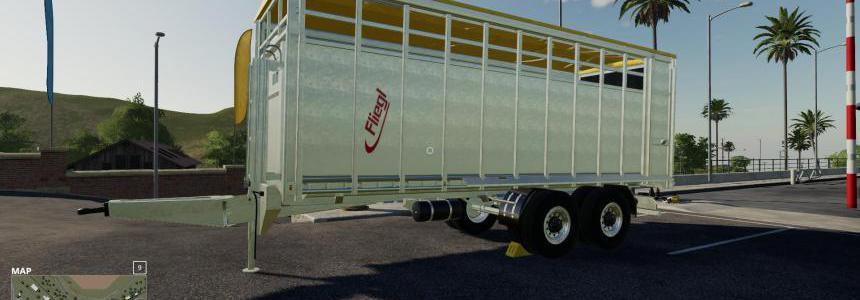 Fliegl animal trailer v1.0