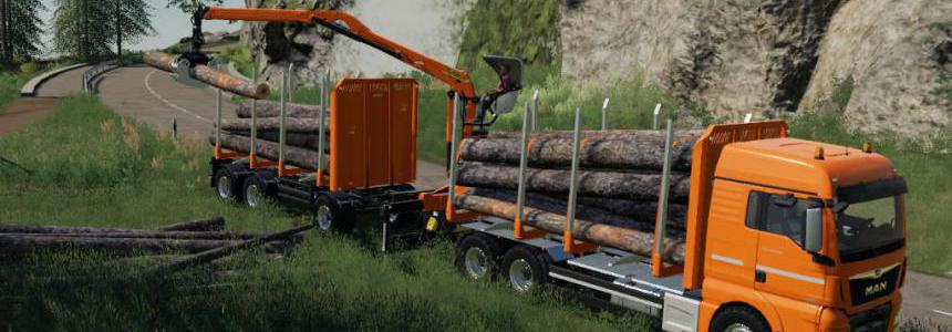 Fliegl Timber Wood Trailer v1.0.0.1