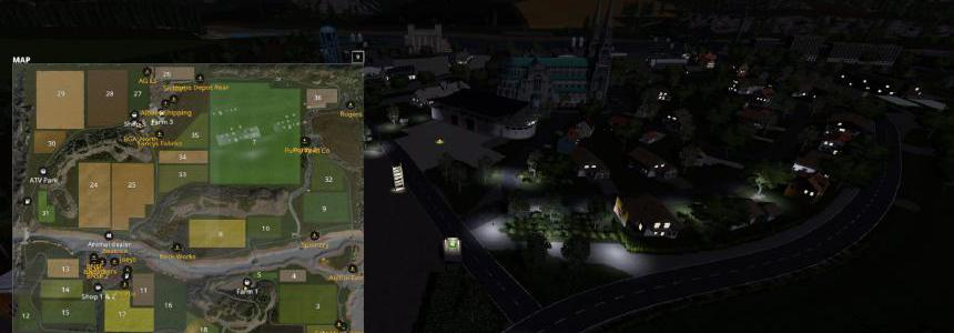 Flusstal v2.0.0.4 Secret Roads Courseplay Parzival