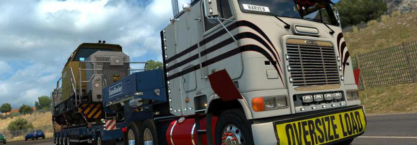 Freightliner FLB  v2.0.5 Edit by Harven 1.34.x