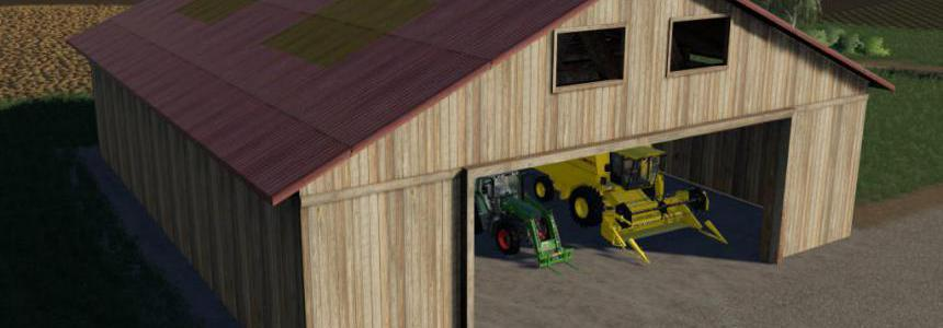 FS09 Implement Shed v1.0.0.0