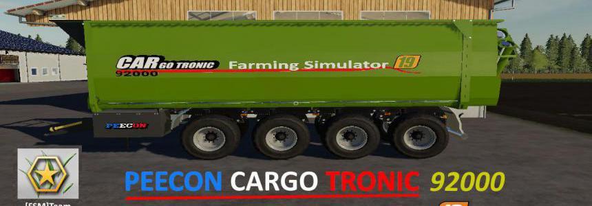 FS19 FSM Peecon Cargo92000 v1.0.0.1