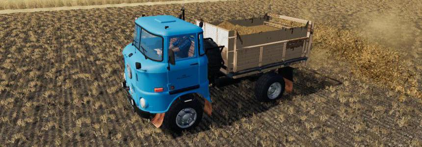 IFA W 50 Manure Spreader v1.0