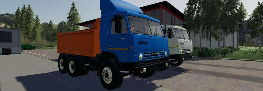 Kamaz 53212 plus semi trailer v1.0