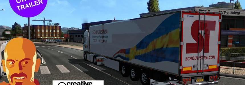 KRONE JELLE SCHOUWSTRA OWNED TRAILERS ETS2 1.33.x