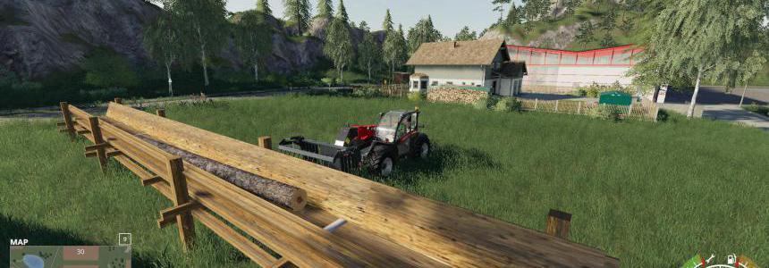 Log Holder To Hold Your Logs v0.5