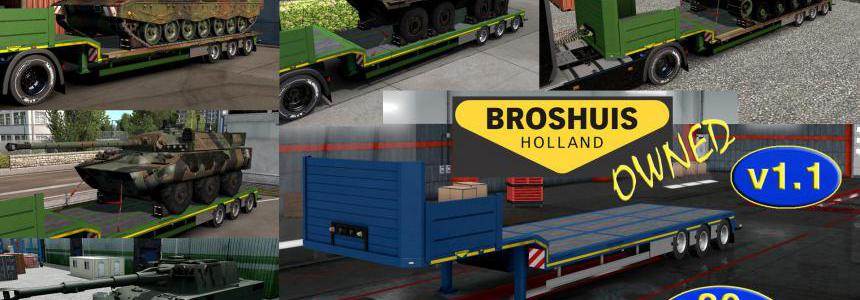 Military Addon for Ownable Trailer Broshuis v1.1