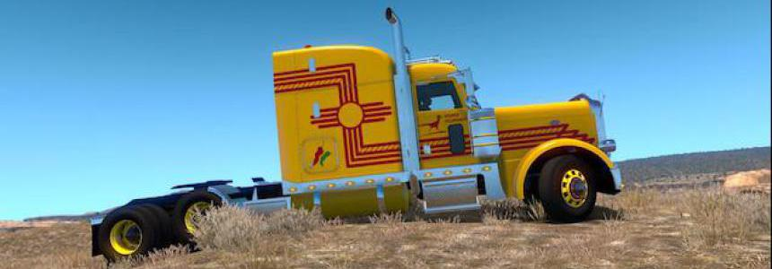 New Mexico Livery Peterbilt 389 1.33.x