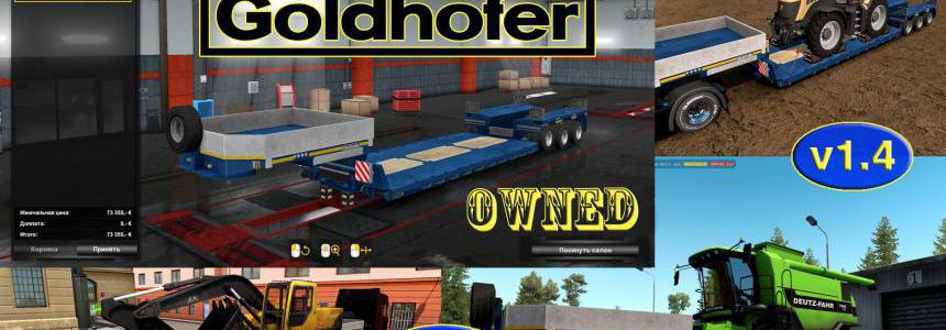 Ownable overweight trailer Goldhofer v1.4