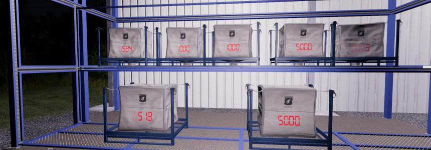 Pallets/Tanks with Digital Fill Level Indicator v2.0