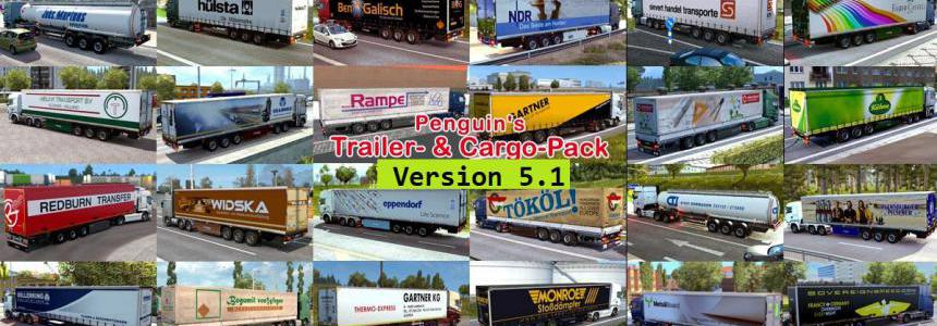Penguins Trailer and CargoPack v5.1