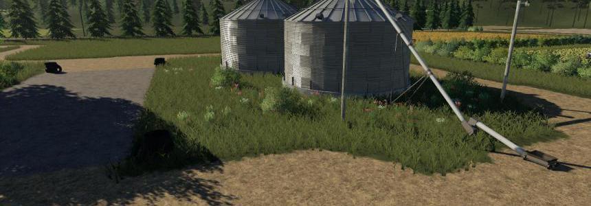 Placeable Grain Silo system v1.1