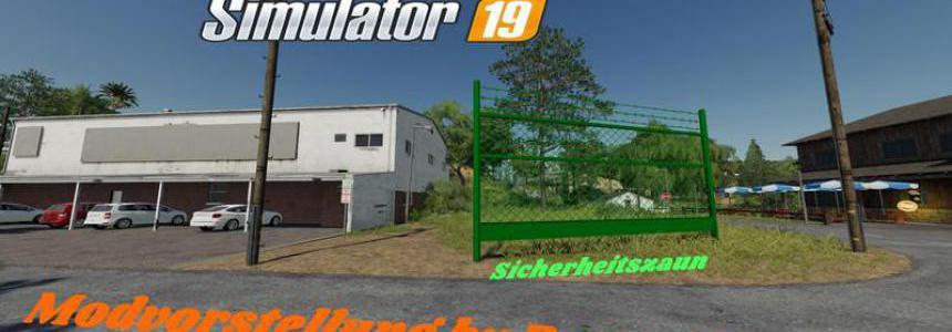 Placeable security fence v1.1