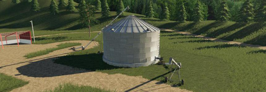 Placeable single grain silo v1.0
