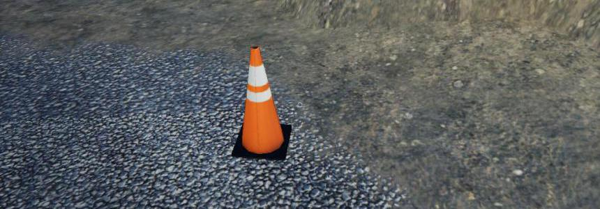 Placeable traffic cones v1.0