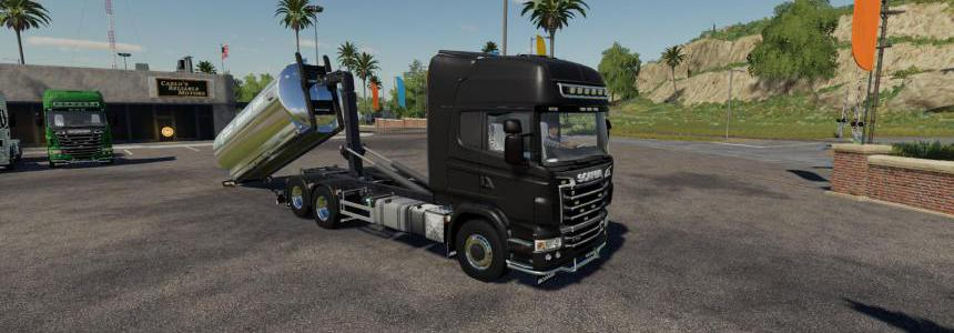 Scania R730 Hooklift v1.0.0.0