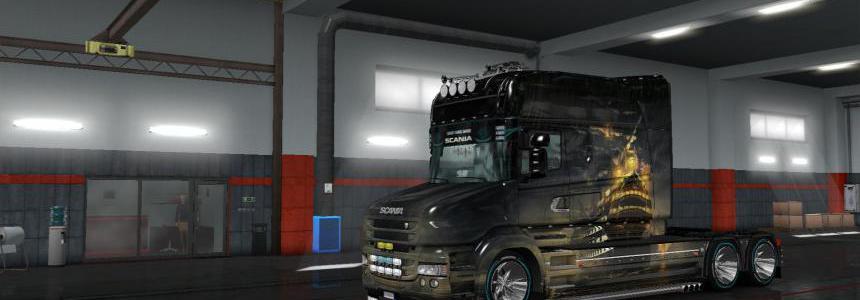 Ship v3 skin for Scania RS Longline & Scania T Longline