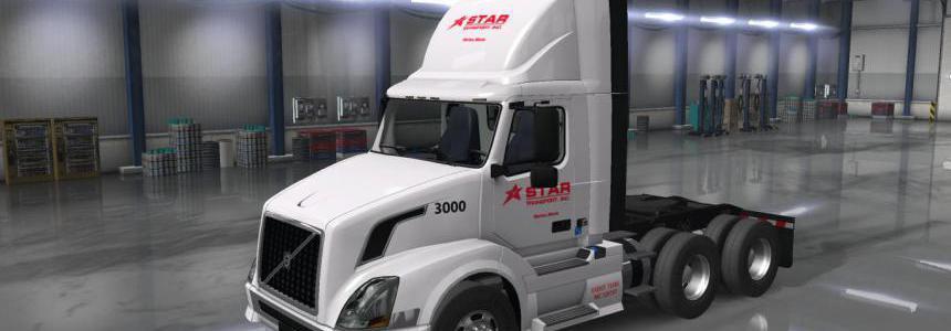Star Transport Inc. Skins for SCS trucks v2.0