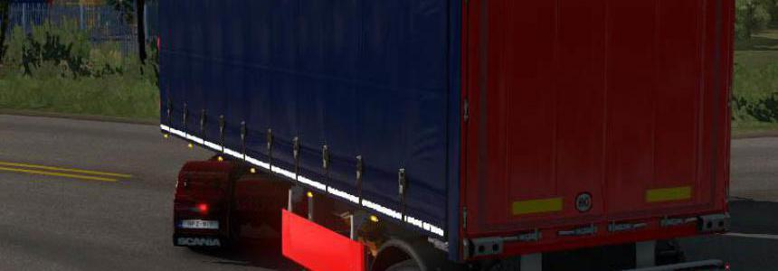 Steerable Axle for Short Single Axle Curtain Trailer 1.34.x