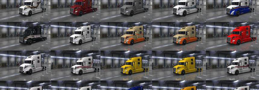 Volvo vnl 2018 truck Mexican Skin Pack 1.34.x