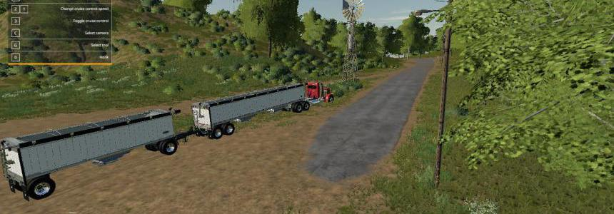 Wilson Trailer and pup combination v1.0