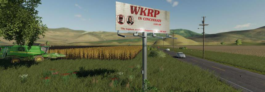 WKRP Billboard v1.0