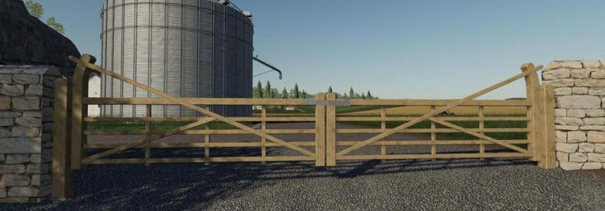 Wooden Gates Fences And Stone Walls v1.0.0.0