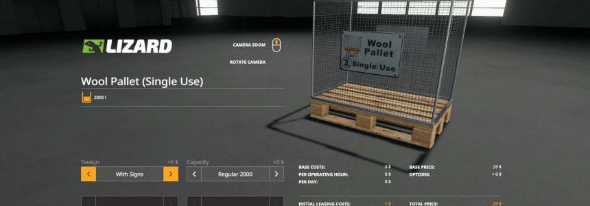WOOL PALLET - BUYABLE v1.1