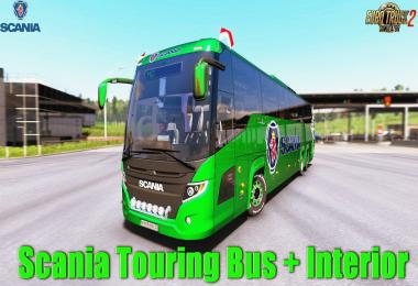 [ATS] Scania Touring v1.1 for ATS 1.33+