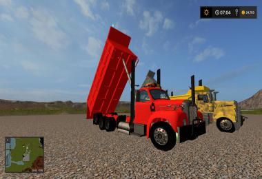 MackB61 square body dump truck v1.0.0.2