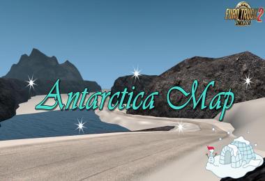 Antarctica Map v0.6 1.34.x