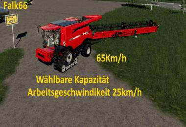 Case Axial 9240 with capacity option and working speed 25Km/h v1.0
