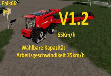 Case Axial 9240 with capacity option and working speed 25Km/h v1.2