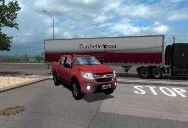 Chevrolet S10 High Country for ATS 1.33+