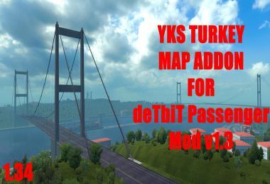 DeTbiT Bus Terminal - YKS Turkey Map Addon 1.34