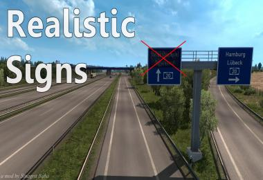 ETS 2 - Realistic Signs v1.0