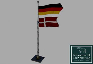 GERMANY OVER DENMARK FLAG BETA