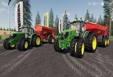 John Deere 6R - 6M + Bredal K105 - K165 v1.0