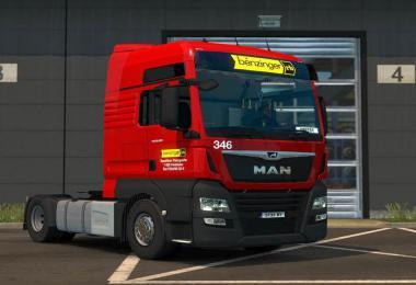 MAN TGX Euro 6 skins 1.34