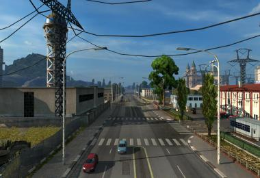 MAPA EAA NORMAL  10 ANOS - ETS2 1.34