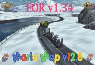 Mario Map update 1.34