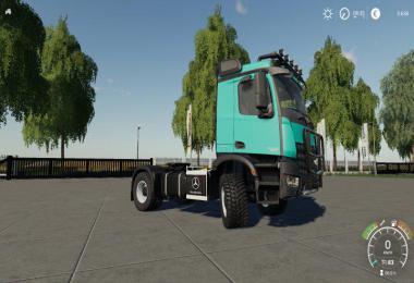 Mercedes Arocs Agrar v1.0.0.0