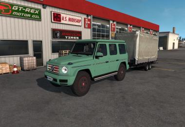 Mercedes-Benz G500 2019 v1.1 for ATS 1.34.x