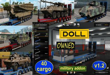 Military Addon for Ownable Trailer Doll Panther v1.2