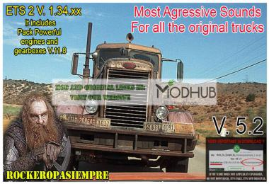 Most Aggressive Sounds v5.2 by Rockeropasiempre for 1.34.x