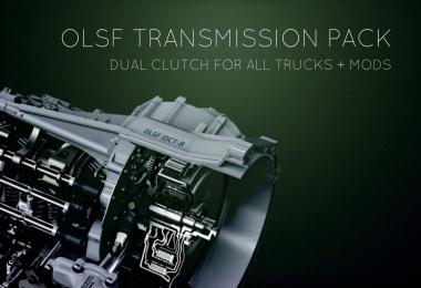 OLSF Dual Clutch Transmission Pack 10 for all Trucks + mods 1.34.x