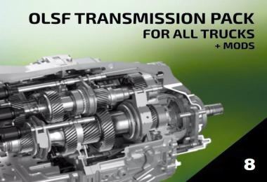 OLSF Dual Clutch Transmission Pack 8 for all Trucks + mods 1.34.x