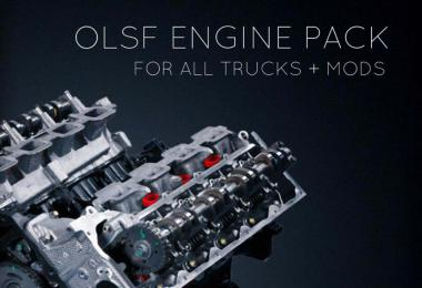 OLSF Engine Pack 37 for All trucks + mods 37 1.34
